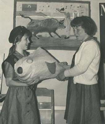 Me, Polly, Fish 400jpg