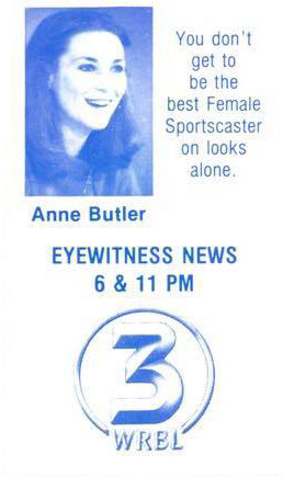Anne Butler Sportscaster Channel 3